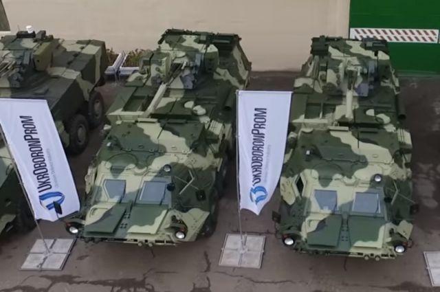«Укроборонпром» полностью модифицировал первый украинский БТР