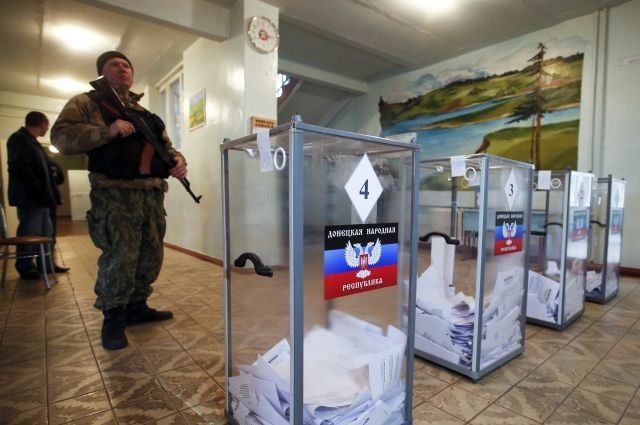 В разведке Минобороны назвали дату незаконных выборов «ЛНР» и «ДНР»
