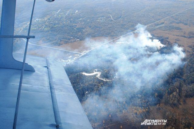 Всего с начала пожароопасного сезона на территории Хабаровского края зарегистрирован 391 лесной пожар на площади 312066 га.