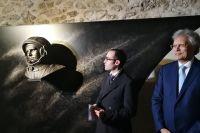 Открытие памятника Юрию Гагарину в Сан-Марино.