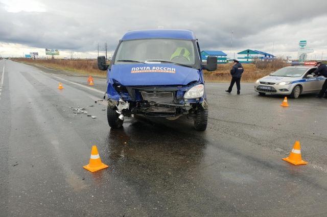 В ДТП возле Губкинского пострадал водитель почтовой «Газели»
