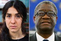 Надя Мурад и Денис Муквеге.