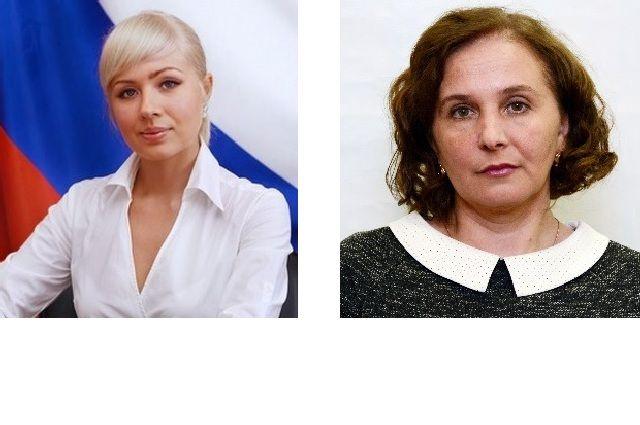 Екатерина Шилова (слева) и Татьяна Воронина
