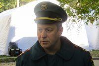 Начальник Центра управления в кризисных ситуациях полковник внутренней службы регионального управления МЧС Николай Волков.