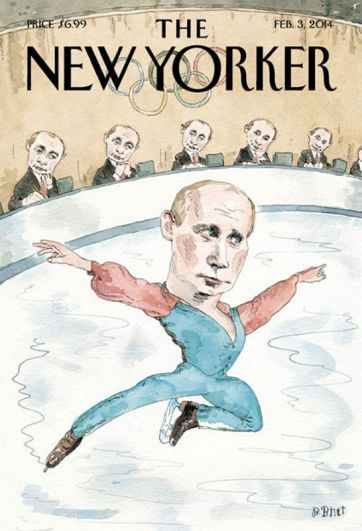 The New Yorker, февраль 2014 года.