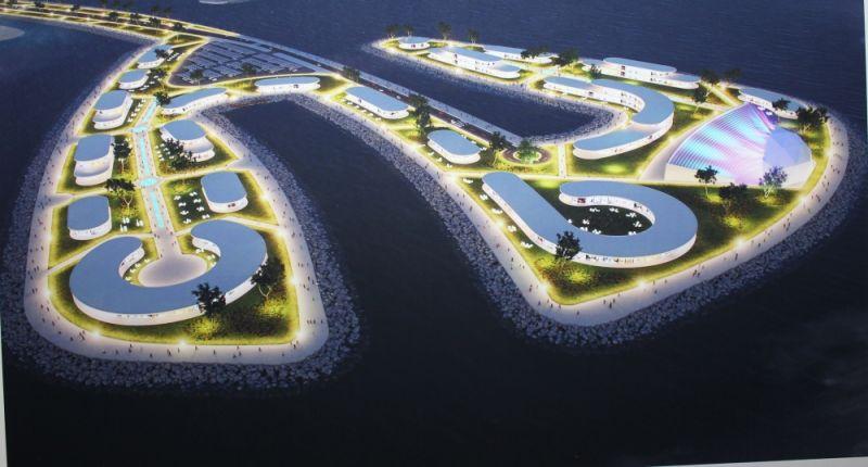 Одна из концепций предусматривает разделение территории на несколько тематических островов.Это остров Ночной жизни.