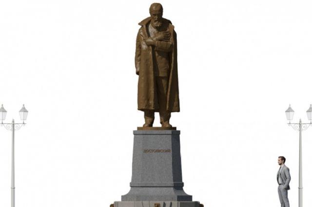 Итоговый эскиз памятника Достоевскому обсудят на следующем заседании Совета по топонимике.