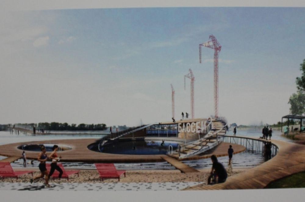 Проекты конкурсантов предполагают создание бассейнов, фонтанов, аквапарка и другого.