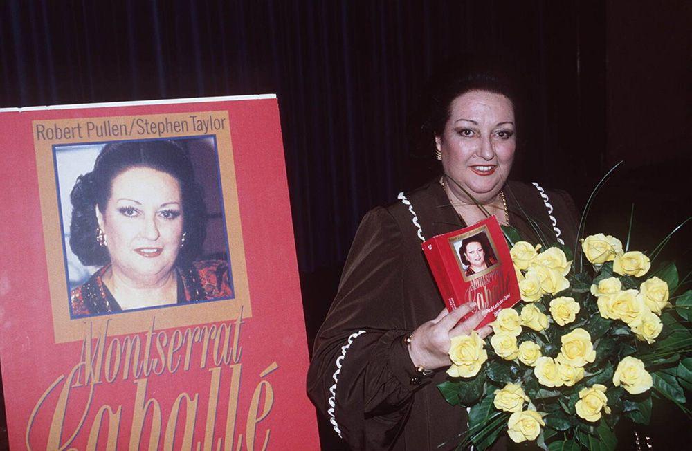 Монсеррат Кабалье в 1995 г.