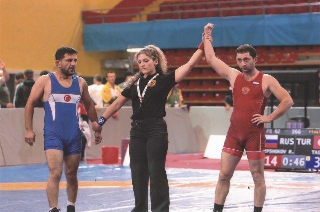 Новоуренгоец - призер Чемпионата мира среди ветеранов по вольной борьбе