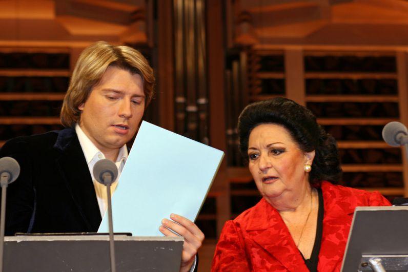 Монсеррат Кабалье и Николай Басков в 2006 г.