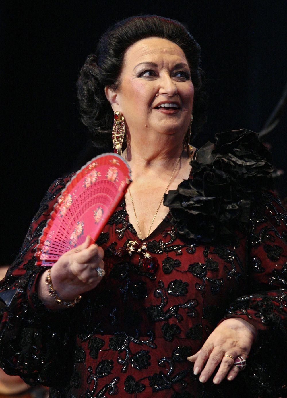Монсеррат Кабалье в 2008 г.