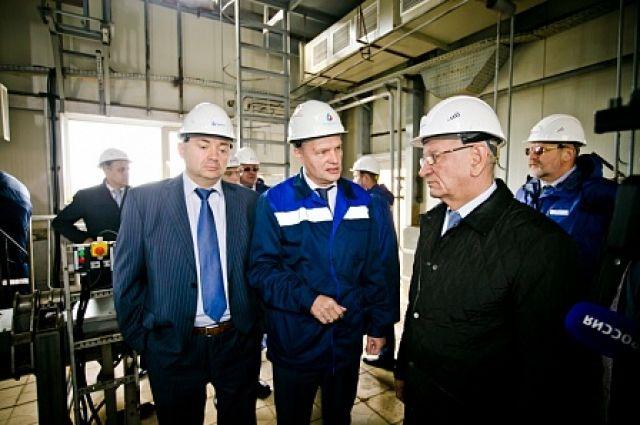 Губернатор Юрий Берг проверил очистные сооружения в Оренбурге.