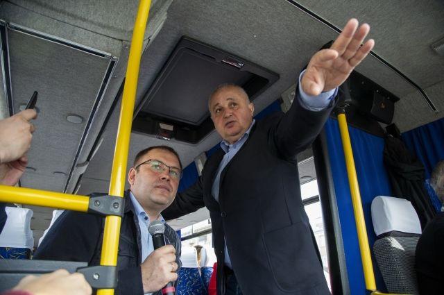 Сергей Цивилёв и Илья Середюк объехали окраины областной столицы.