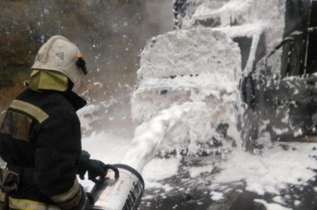 Пожарные справились с возгоранием за несколько минут.