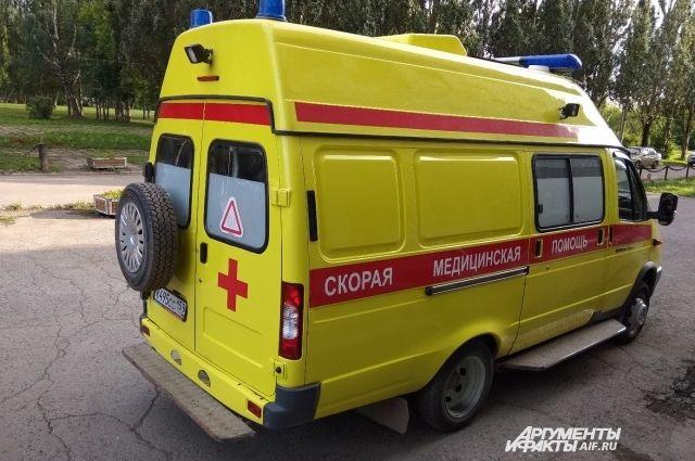 Пострадавшего увезли в больницу.