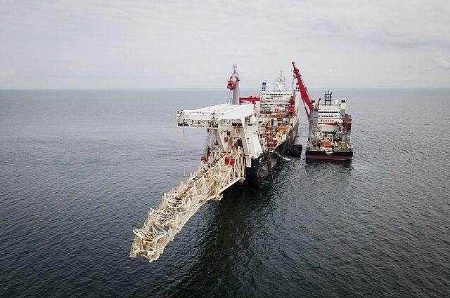 Второе судно присоединилось кукладке труб «Северного потока-2»