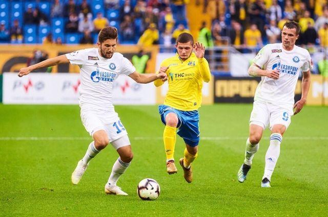 Напряженная игра: ФК «Оренбург» с минимальным счетом победил «Ростов».