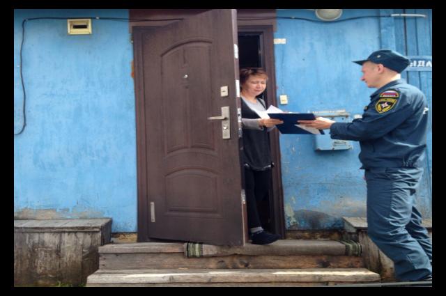 В Лабытнанги проверяют жилье на пожарную безопасность