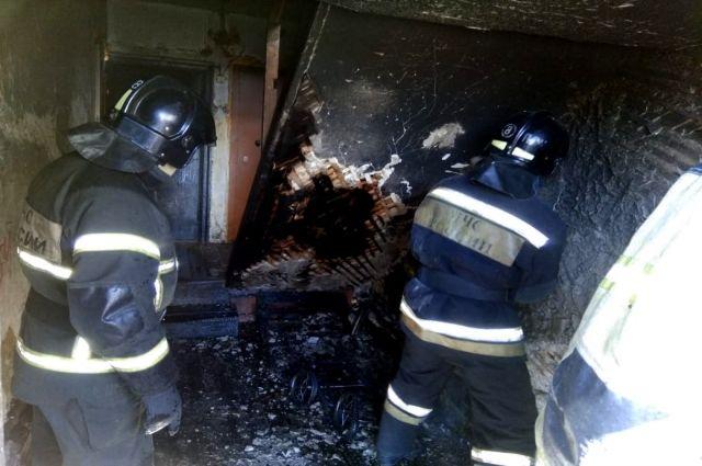 Инспекторам предстоит выяснить причины пожара
