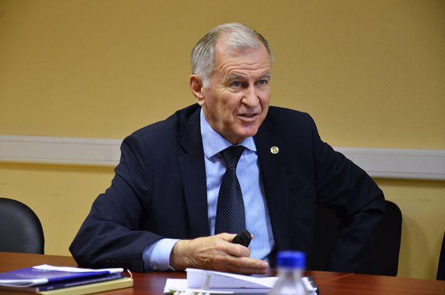Президент УлГУ Юрий Полянсков.
