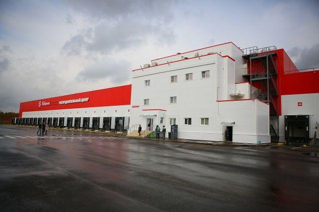 Новый распределительный центр станет точкой сосредоточения местных поставщиков