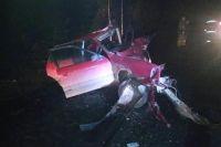Один человек погиб и двое пострадали в столкновении двух автомобилей в Прикамье.