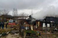 В Ноябрьске проводят проверку факта гибели при пожаре бабушки и ребенка