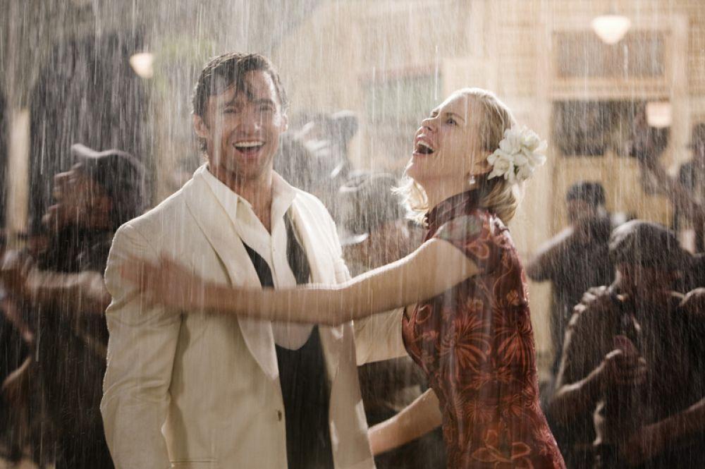 «Австралия» (2008). Главные роли исполнили Хью Джекман и Николь Кидман.