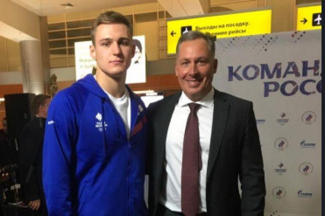 Даниил Марков (слева) выиграл золотую медаль.