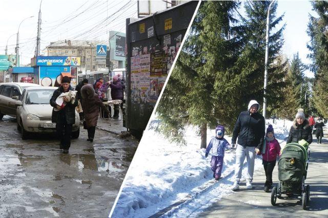 Новосибирск нуждается в благоустройстве.