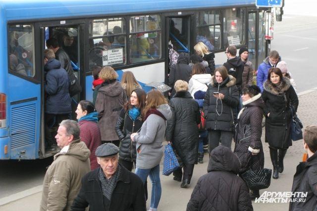 Единый проездной билет внедрят в Калининграде в 2019 году.