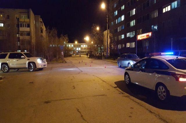 В Новом Уренгое водитель ВАЗ сбил женщину