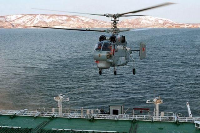 На Балтфлоте начали подготовку к полетам на модернизированных Ка-27М.