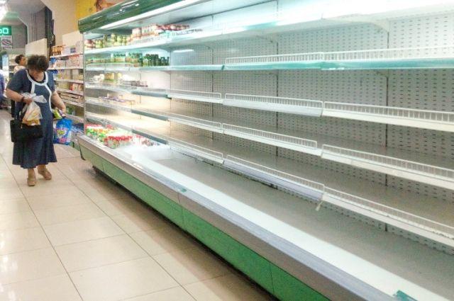 Похоже, сеть супермаркетов «Rosa» начинает сворачивать бизнес