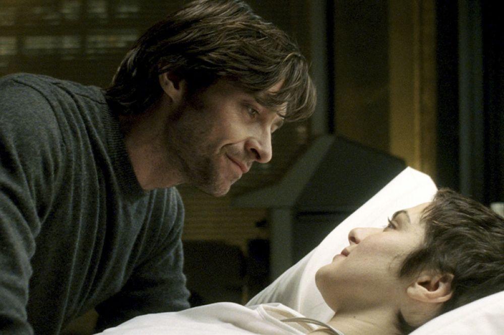 «Фонтан» (2009). В фильме-притче Даррена Аронофски Джекман исполнил роль врача-онколога Тома Крео, который ищет лекарство для больной жены (Рейчел Вайс).