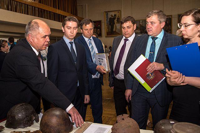 Презентация проекта виртуального музея 170-ой дивизии экспертному совету