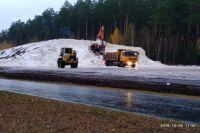 В тюменской «Жемчужине Сибири» приступили к формированию снежных трасс