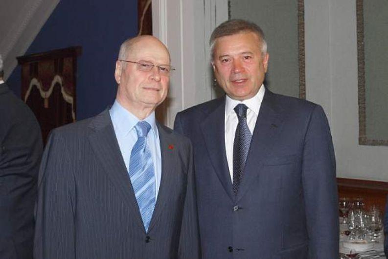 Вениамин Сухарев и Вагит Алекперов.