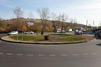 В Красноярске по-новому оформляют развязки.