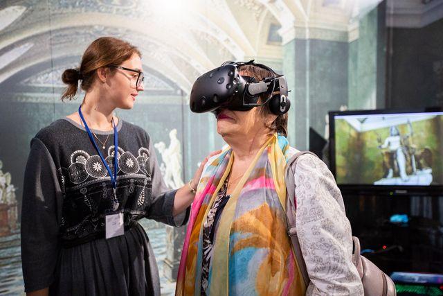 Виртуальные экскурсии пришлись по душе посетителям Дней Эрмитажа.