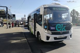 В Омске уже 100 новых автобусов.