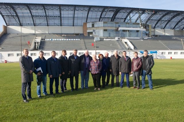 Депутаты оценили строительство спорткомплекса