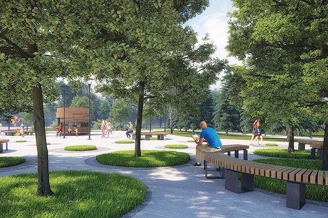 Проект парка «Кашкадан».
