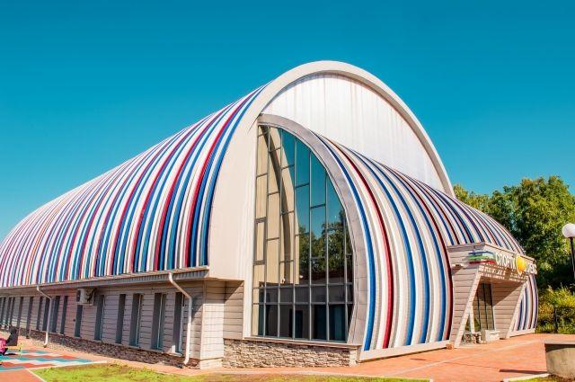 Комплекс построили в Зенковском парке на территории санатория «Шахтер».