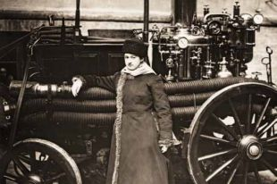 Мария Ермолова предпочла тушение пожаров веселым балам.