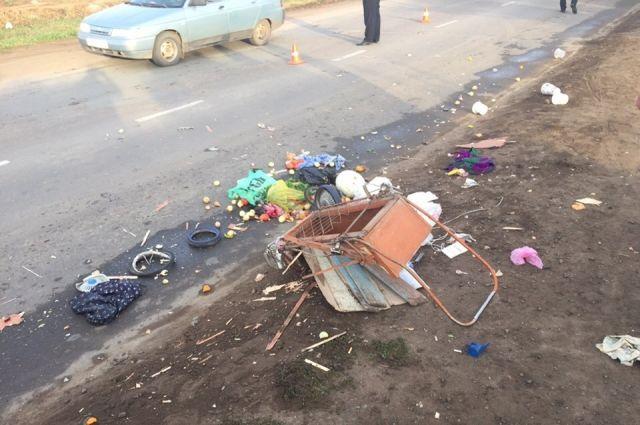 В Бузулуке в ДТП погибла 80-летняя женщина.