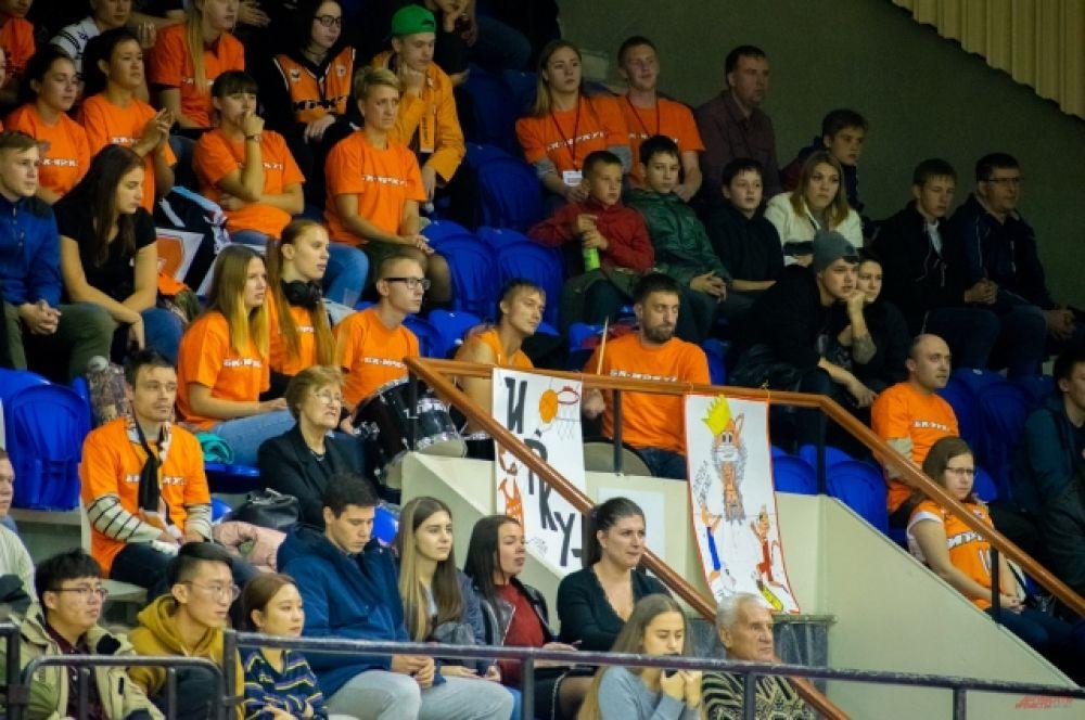 За несколько дней до матча фанаты «Иркута» провели конкурс на лучший плакат