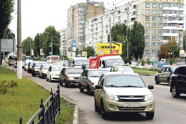 Улица Щорса в Белгороде - одна из самых непроезжих.