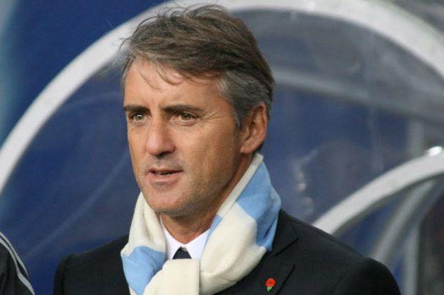 Роберто Манчини, тренер сборной Италии